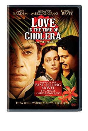 Love in the Time of Cholera - 2007 film, based on the book by Gabriel Garcia Marquez and directed by Mike Newell
